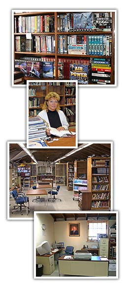 Photos of the Wyble Library interior
